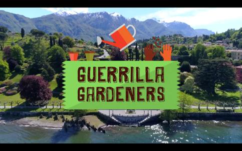 """Bonfante s.r.l. alla trasmissione televisiva """"GUERRILLA GARDENERS"""" su La5"""